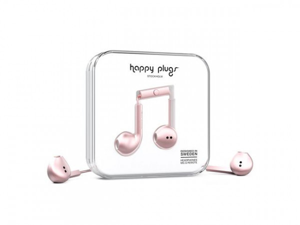 Apple Happy Plags earbud plus Rose Gold image