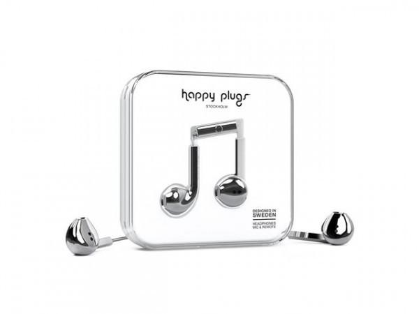 Apple Happy Plags earbud plus Silver image