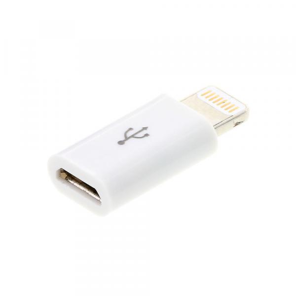 Apple Lightning to Micro USB Adapter image