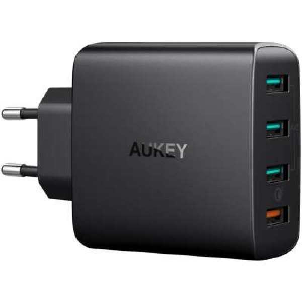 Aukey PA-T18 Qualcomm Quick Charge 3.0 charger 42W (Black) image