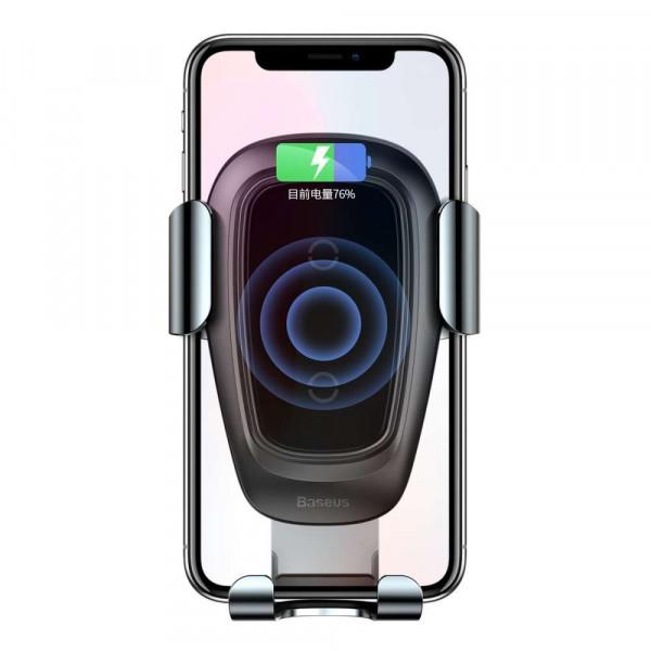 Baseus Wireless Car Holder Vent mount - Black image