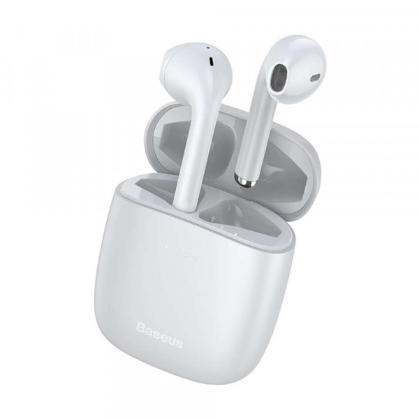 Baseus Wireless Earphones Encok W04 - White image