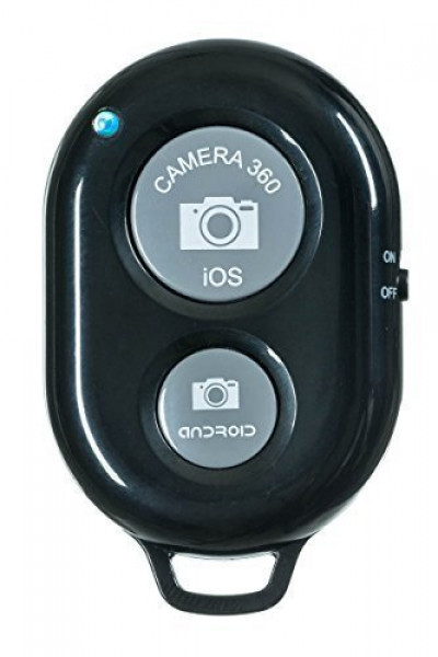 Bluetooth Remote Shutter for iOS/Android Black image