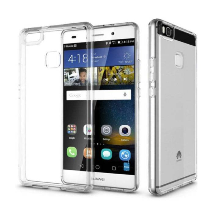 Crystal Case Huawei P8 Lite  Soft TPU case (Clear) image