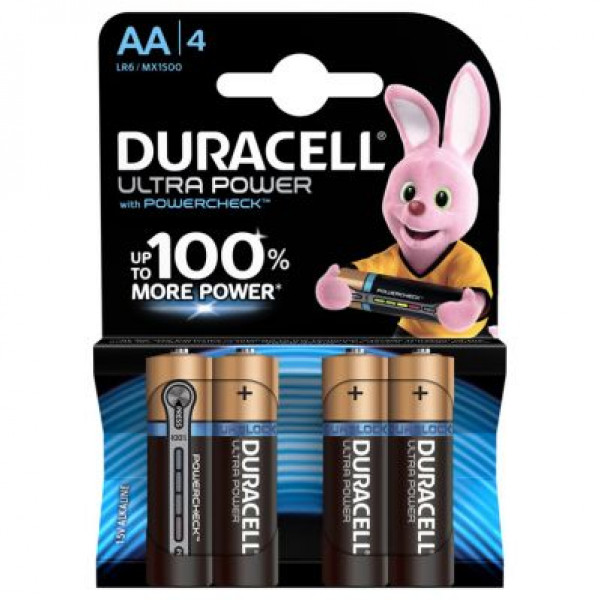 Duracell Ultra Power 4-pack AA image