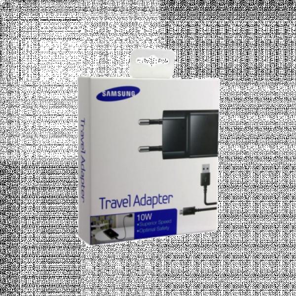 ETA-U90EBE Samsung charger black retail + ECB-DU4EBE cable image