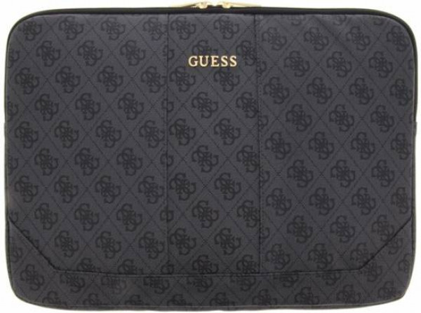 Guess 4G Uptown Notebook / Tablet Sleeve 13 inch - Donkergrijs image