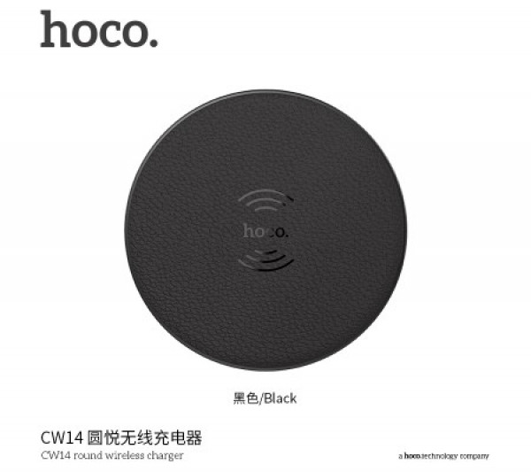 Hoco CW14 round wireless charger image
