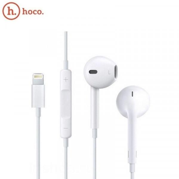 Hoco L7 Original series lightning converse earphone White image