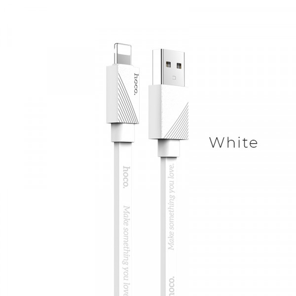 Hoco U34 LingYing dual-use charging cable(L=0.25M) White image