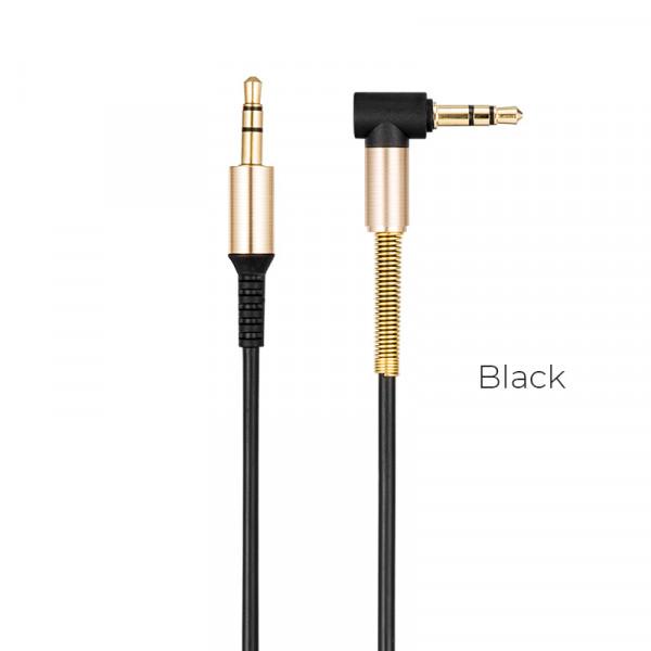 Hoco UPA02 AUX Spring Audio cable Black image
