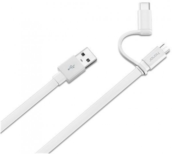 Huawei 2-in-1 Data Cable USB Type-A to Micro USB & Type-c image