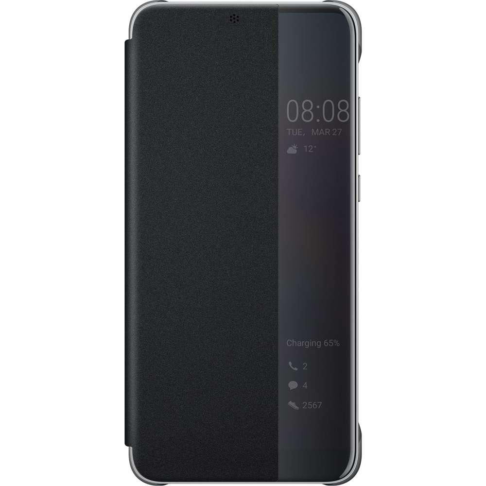 Huawei P20 Pro Smart View Flip Cover (Black) image