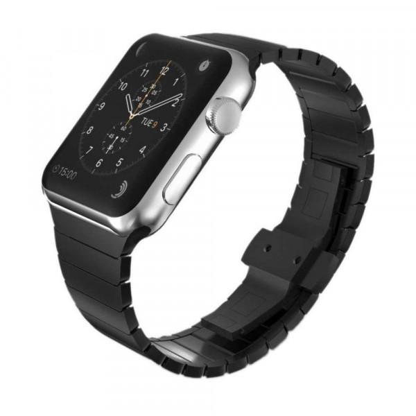 Just in Case 316L Metalen Watchband voor Apple Watch 42/44mm - (Black) image