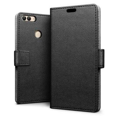 Just in Case Huawei P Smart Wallet Case (Black) image