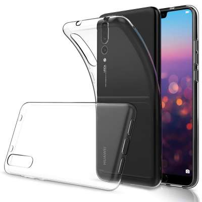Just in Case Huawei P20 Pro Soft TPU case (Clear) image