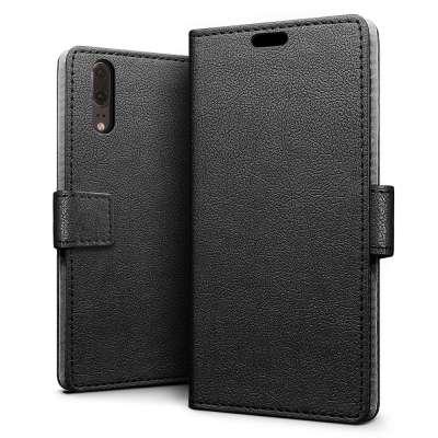 Just in Case Huawei P20 Wallet Case Black image