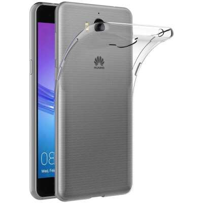 Just in Case Huawei Y5 2017 Soft TPU case (Clear) image