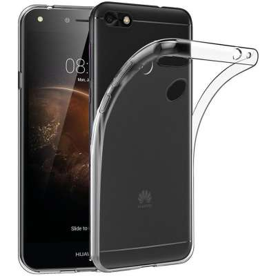 Just in Case Huawei Y6 Pro (2017) Soft TPU case (Clear) image