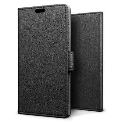 Just in Case Huawei Y6 Pro (2017) Wallet Case (Black) image