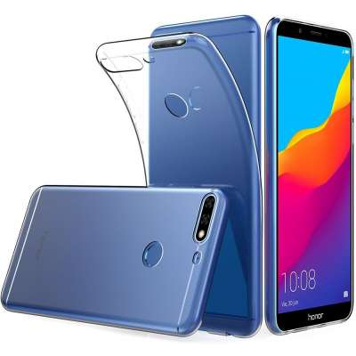 Just in Case Huawei Y7 2018 Soft TPU case (Clear) image