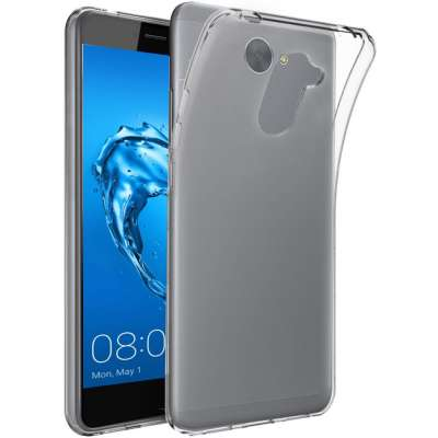 Just in Case Huawei Y7 Soft TPU case (Clear) image