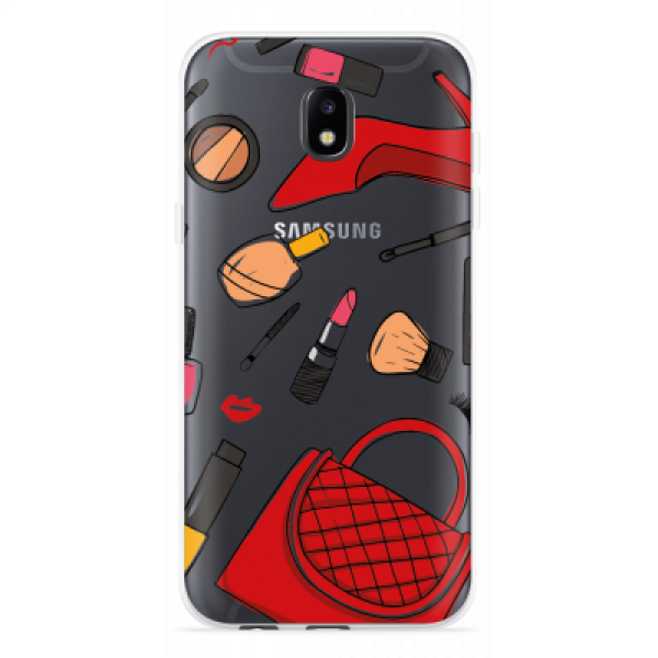 Just in Case Samsung Galaxy J5 (2017) Hoesje Girly image