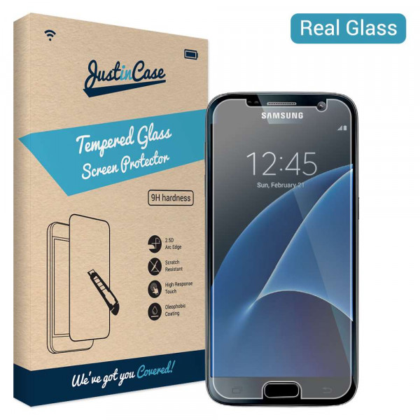 Just in Case Tempered Glass Samsung Galaxy S7 image