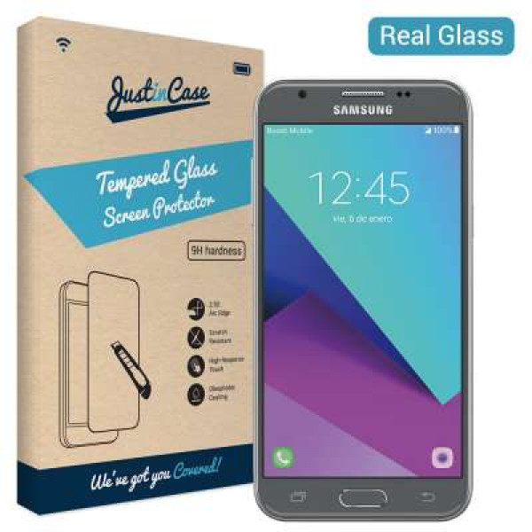 Just in Case Transparent Glass Samsung Galaxy J3 (2017) image
