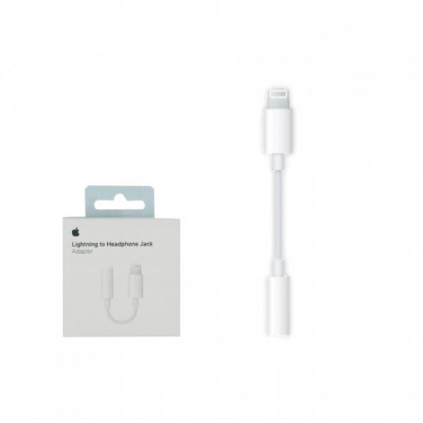 Lightning to headphone jack MMX62ZM/A image