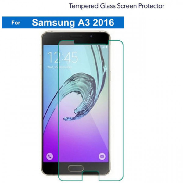 Mocca Samsung Galaxy A3 2016 Tempered Glass Transparent image