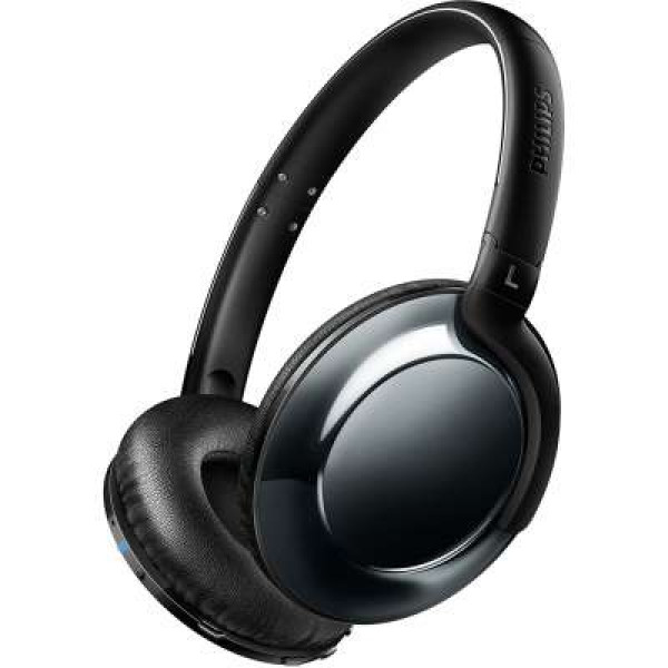 Philips SHB4805 Flite Everlite Bluetooth Headphone - Black image