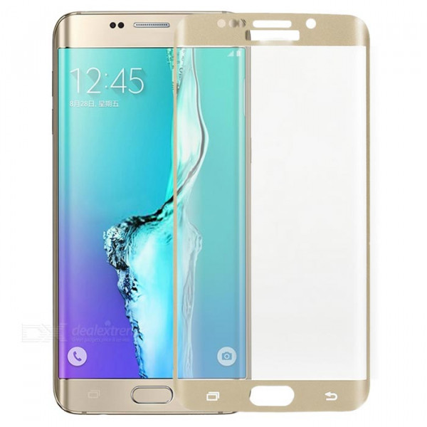 Protect Glass S6 Edge Gold image