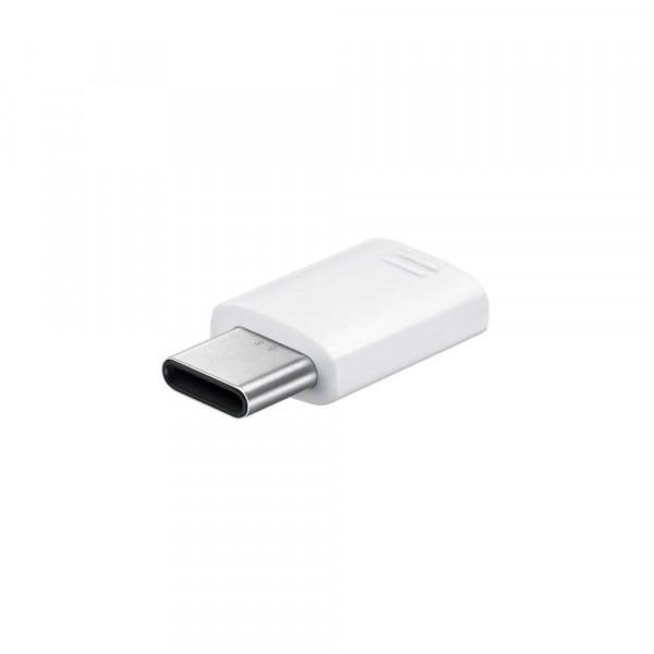Samsung Adapter (Micro USB naar USB-C) (White) - EE-GN930BW image