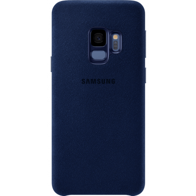 Samsung Galaxy S9 Alcantara Cover (Blue) - EF-XG960AL image