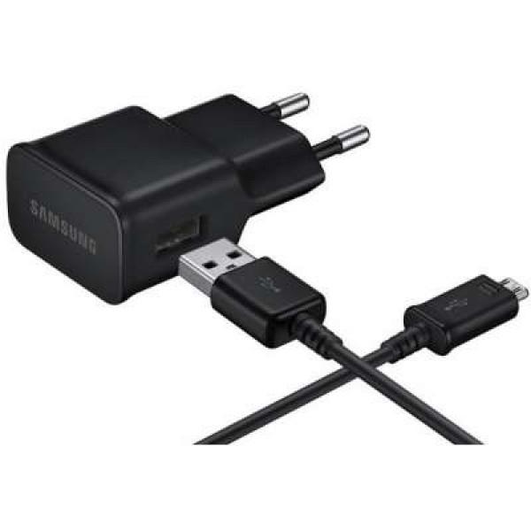 Samsung MicroUSB Charger (2A) 10W (Black) - EP-TA12EBEUGWW image