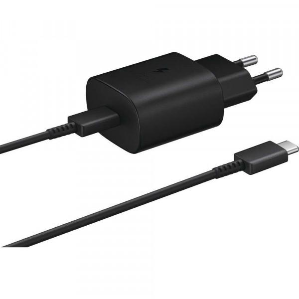 Samsung USB-C Fast Charger (25W) (Black) - EP-TA800XB image