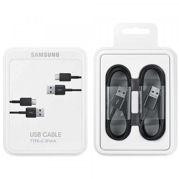 Samsung USB-C Kabel - EP-DG930MB 2Pack Black image